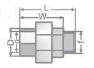 Холендрова връзка с външна месингова резба